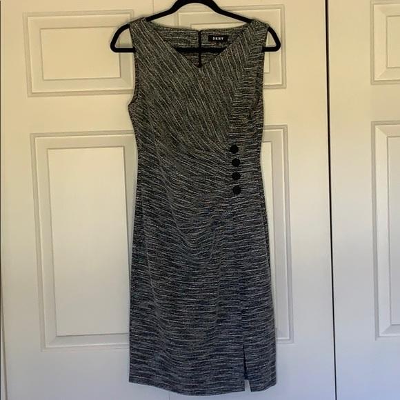 "Dkny Dresses & Skirts - ""DKNY"" Dress w/ 4 logo'ed buttons"